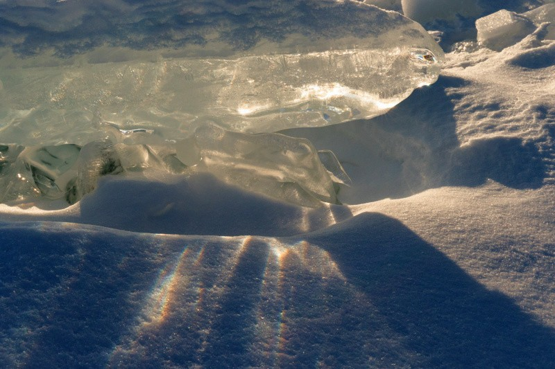 Sun is shining trhough the Ice, photography vacations, Tim vollmer Photography